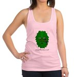 Folk Customs - Green Man Racerback Tank Top