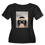Waterside Gazebo Plus Size T-Shirt