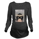 Waterside Gazebo Long Sleeve Maternity T-Shirt