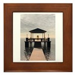 Waterside Gazebo Framed Tile