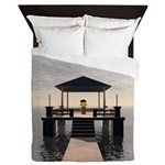 Waterside Gazebo Queen Duvet