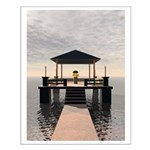 Waterside Gazebo Posters