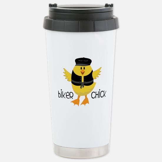 Biker Chick Travel Mug