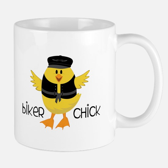 Biker Chick Mugs