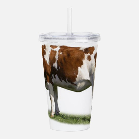 Cow Photo Acrylic Double-wall Tumbler