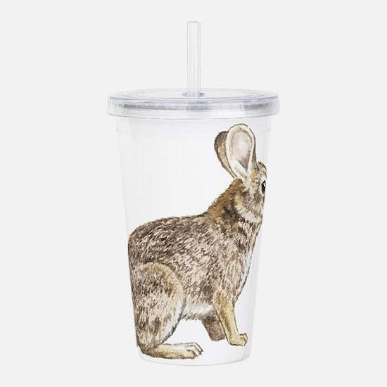 Bunny rabbit Acrylic Double-wall Tumbler