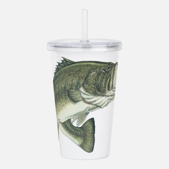 large mouth bass Acrylic Double-wall Tumbler