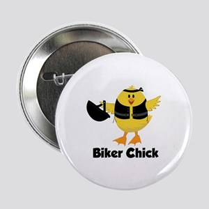 "Biker Chick 2.25"" Button"
