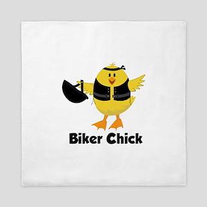 Biker Chick Queen Duvet