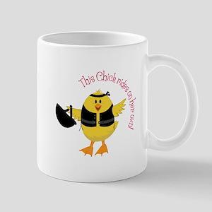 This Chik Rides Mugs