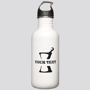 Black your text Mortar Stainless Water Bottle 1.0L