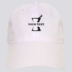 Black your text Mortar and Pestle Cap
