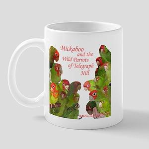 Wild Parrots Mug