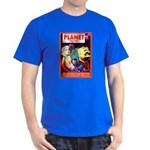 SCI FI PULP FICTION ART Dark T-Shirt