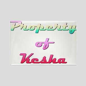 Property Of Kesha Female Magnets