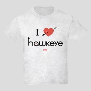 I Heart Hawkeye Red Kids Light T-Shirt