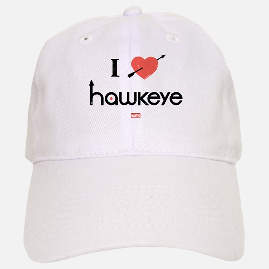 I Heart Hawkeye Red Baseball Baseball Cap