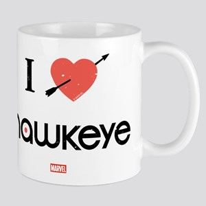 I Heart Hawkeye Red Mug