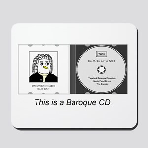 Baroque CD Mousepad