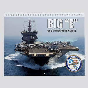 Uss Enterprise Cvn-65 Big E Wall Calendar