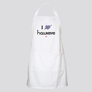 I Heart Hawkeye Purple Apron