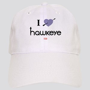 I Heart Hawkeye Purple Cap