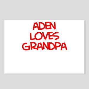Aden Loves Grandpa Postcards (Package of 8)