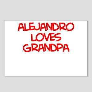 Alejandro Loves Grandpa Postcards (Package of 8)