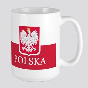 Polska Polish Flag Mugs