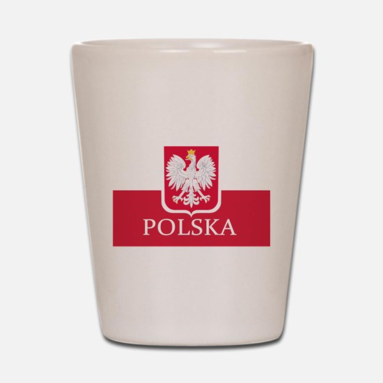 Cute Polish Shot Glass
