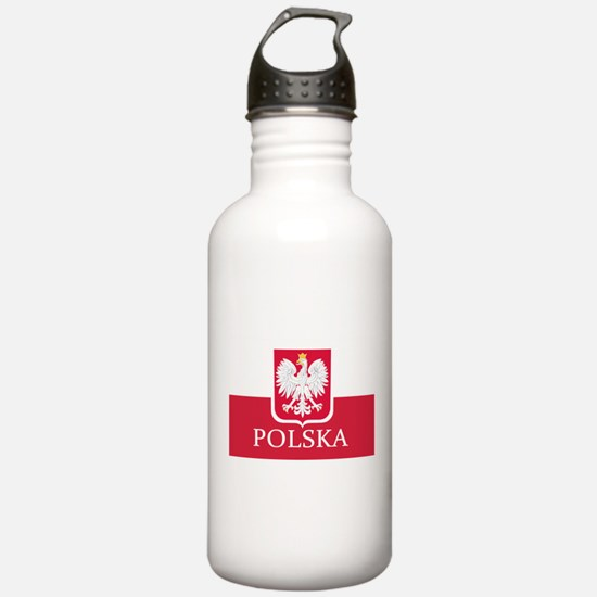 Cute Poland Water Bottle
