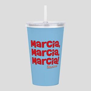 Marcia Marcia Marcia Brady Bunch Acrylic Double-wa