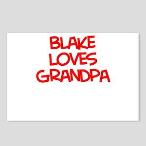 Blake Loves Grandpa Postcards (Package of 8)
