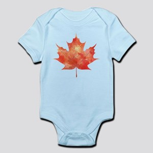 Maple Leaf Art Infant Bodysuit