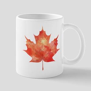 Maple Leaf Art Mug