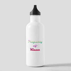 Property Of Kiana Female Water Bottle