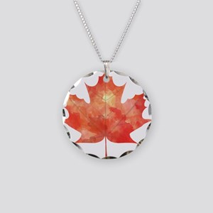 Maple Leaf Art Necklace