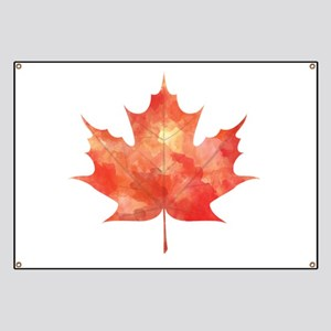 Maple Leaf Art Banner
