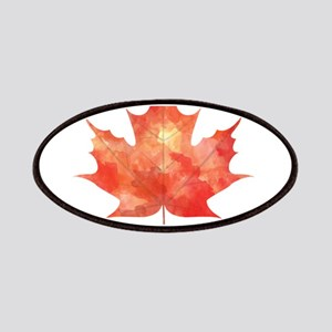 Maple Leaf Art Patches