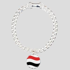 Waving Yemen Flag Bracelet