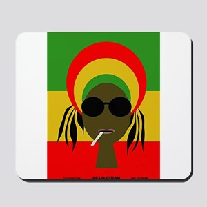 Rasta Queen Mousepad
