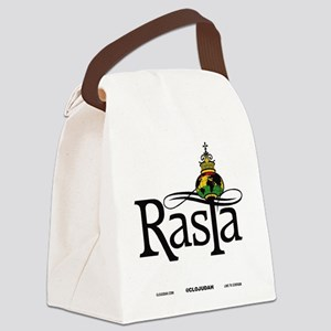 Rasta Globe Canvas Lunch Bag