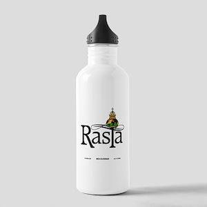 Rasta Globe Water Bottle