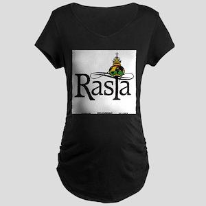 Rasta Globe Maternity T-Shirt