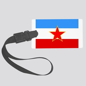 Yugoslavia Flag Luggage Tag
