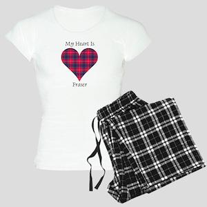 Heart - Fraser Women's Light Pajamas