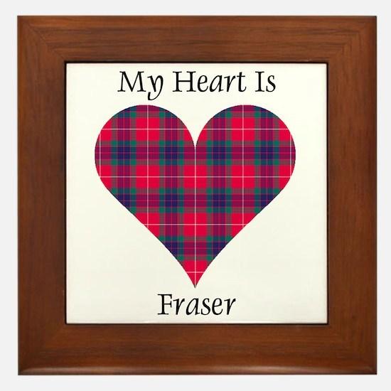 Heart - Fraser Framed Tile