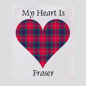 Heart - Fraser Throw Blanket