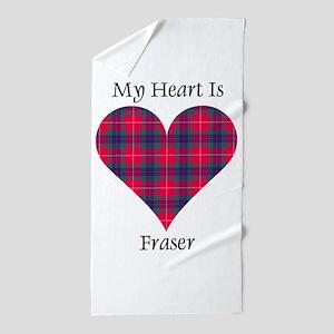 Heart - Fraser Beach Towel