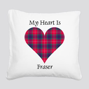 Heart - Fraser Square Canvas Pillow
